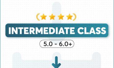 INTERMEDIATE IELTS ( 5.0 – 6.0+)