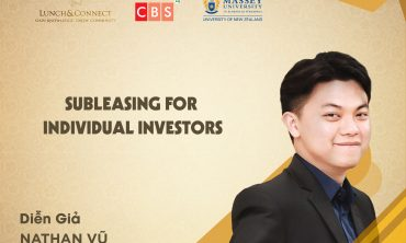 [ Lunch&Connect Số 154 ] – FINANCE COMMUNITY – SUBLEASING FOR INDIVIDUAL INVESTORS